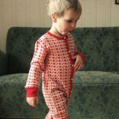 Wool pyjamas activist - Ugly Childrens Clothing. Uglycc.com. Free world wide shipping.