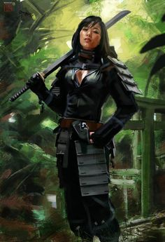 The Blind Ninja (by David Benzal)