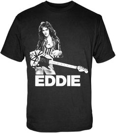 """Check out the deal on """"EDDIE"""" Shirt at Van Halen Store"""