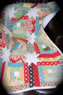 Sew Humble Beginnings: Mary Engelbreit cherry quilt!