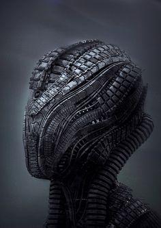 Tech Head by Riyahd Cassiem, via Behance