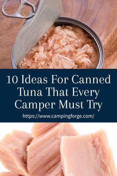 Canned tuna is an essential camping food. And versatile. See these reciepes to learn how prepare it in multiple ways. Diy Camping, Camping Meals, Camping Hacks, Tent Camping, Camping Essentials, Camping Trailers, Travel Trailers, Tuna Lettuce Wraps, Tuna Fish Cakes