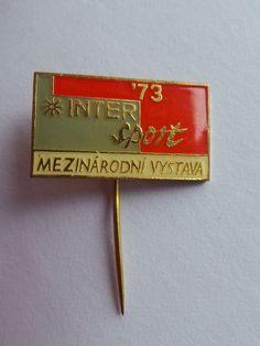 Badge pin 1973 International Exhibition INTER Sport Mezinárodní vystava   Collectibles, Pinbacks, Bobbles, Lunchboxes, Pinbacks   eBay! Inter Sport, Pin Badges, Money Clip, Sports, Accessories, Ebay, Sport