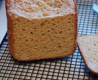 Pão de Arroz (Sem Glúten) - Máquina de Pão