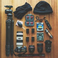 Don't forget gloves on a cold outdoor shoot  Simple Canon gear inspiration  photo by @daniel_johnson_bts Tag a creative  #camera #gear #canon #5dmarkiii #canoneos #canonlens #teamcanon #photoshooting #photographyislife #photographerlife #flatlay #essentials