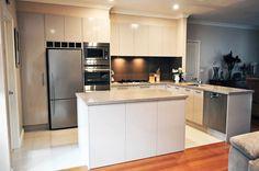 Kitchen Update Interior Design Cheltenham Shitake CaesarStone