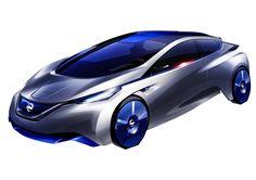Nissan IDS concept decelopment sketches