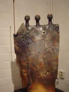 Billedresultat for Jikke van de Waal - Bijma Keramiek Human Sculpture, Sculptures Céramiques, Sculpture Clay, Abstract Sculpture, Ceramic Sculptures, Ceramic Clay, Ceramic Pottery, Pottery Angels, Ceramic Figures