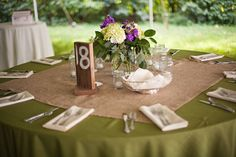 Rustic Chic Brown, Purple & Green DIY Wedding | Bridal Musings | A Chic and Unique Wedding Blog