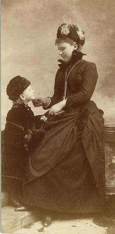Emma and Wilhelmina of Netherlands