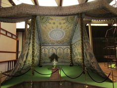 19th century Ottoman imperial tents