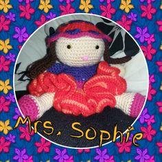 "Gehäkeltes ""Mrs.  Sophie"""