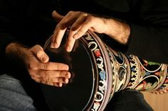 Darbuka: a beautiful and versatile hand drum, that creates the rhythms for dancers and puts the exotic in world music...