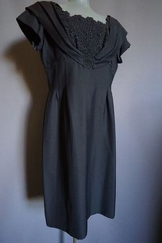 vintage Little Black Dress from The Mabs Collection for sale Dresses For Sale, High Fashion, Vintage Outfits, How To Wear, Clothes, Collection, Black, Women, Outfits