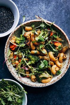 This spicy veggie stir-fry takes less than a half hour to make but is full of healthy vegetables and plant-based nutrients! This spicy veggie st Healthy Food List, Healthy Foods To Eat, Healthy Snacks, Healthy Eating, Healthy Vegetables, Healthy Fruits, Veggies, Vegetable Recipes, Vegetarian Recipes