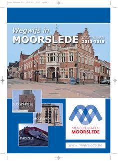 Wegwijs in moorslede_informatiegids2013-2015 by Jan Duchau via slideshare