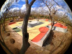 Just finished a private skate park in a backyard in Texas. Perfect mixture of street and transition! Don't you wish this was your backyard?