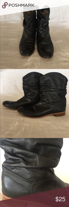 "Boots ""Dingo Boots"" size 8 1/2 are one of the most comfortable boots I have ever had.  These are in very good condition.  I've worn them with leggings, dresses, shorts you name it.  They always look great. Dingo Shoes Ankle Boots & Booties"