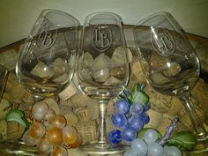 Copas normatizadas para Bodega Minniti. Foto en la bodega en LaRioja