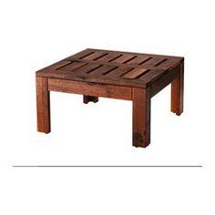 ÄPPLARÖ tavolino/sgabello, marrone Lunghezza: 50 cm Larghezza: 50 cm Altezza: 27 cm
