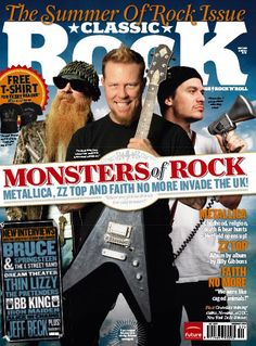 metallica magazine covers   May 2009