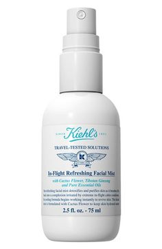 Kiehl's+Since+1851+Kiehl's+Since+1851+'In-Flight'+Refreshing+Facial+Mist+available+at+#Nordstrom