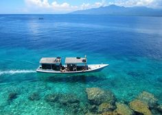 Menjangan Island Its obscure location keeps it rather hidden from most of tourists, which leaves its coral reefs (which varies from 26 to 60 metres high) relatively untouched, and home to more than 226 species of fish.