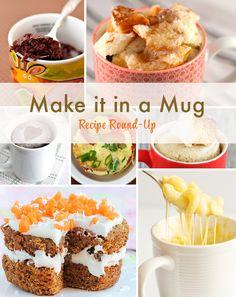 Make it in a Mug Recipe Round-Up