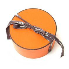 Orange Hermes Box