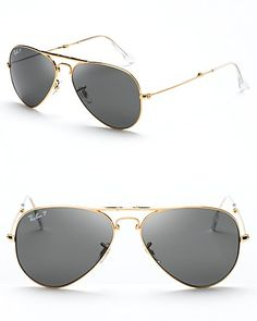 Ray-Ban Polarized Top Bar Aviator Sunglasses - All Sunglasses - Sunglasses - Jewelry & Accessories - Bloomingdale's