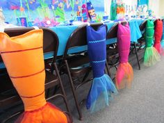 mermaid party tails