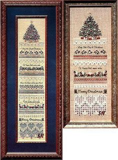 Heirloom Christmas Sampler- Victoria Sampler