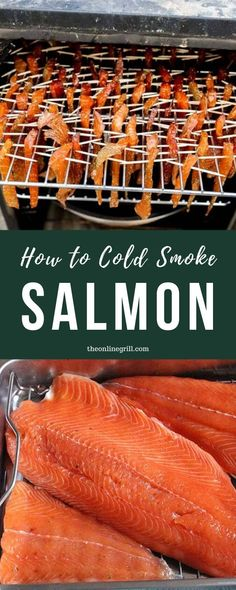 Want to know how to make your own delicious homemade smoked fish? The good news is that it's nowhere near as difficult as you might think. In this guide I walk you through everything you need to know: Heres how to cold smoke salmon. Lobster Recipes, Fish Recipes, Seafood Recipes, Great Recipes, Family Recipes, Smoked Fish, Smoked Salmon, Fish And Seafood, Grilled Seafood