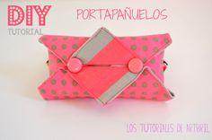 DIY tutorial porta pañuelos