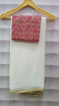 Pure wrinkle chiffon sarees with designer blouses Pure Georgette Sarees, Indian Silk Sarees, Chiffon Saree, Saree Dress, Silk Saree Blouse Designs, Fancy Blouse Designs, Dress Neck Designs, Jute, Plain Saree