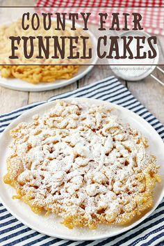 You don't need to wait for the county fair to enjoy a delicious Funnel Cake! This easy-to-make recipe can be enjoyed in just a few minutes! ...