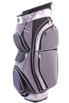 Hunter Golf Eclipse Houndstooth Ladies Cart Bag is redesigned for 2013 and  features a organizer top 051e913f9d0e0