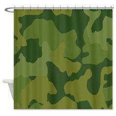 KMBCPKSC Bone Collector Pink Shower Curtain