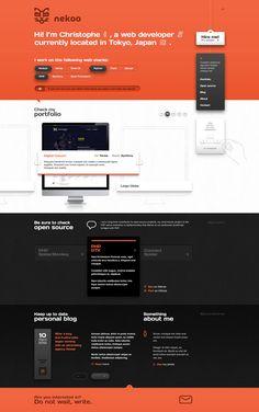 Nekoo by Vision Trust , via Behance