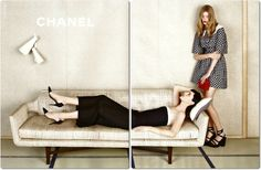 GBI ™: CHANEL SPRING/SUMMER 2013 CAMPAIGN BY KARL LAGERFELD