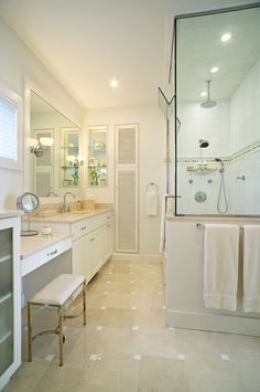 Bath Photos White Tile Bathroom Design, Pictures, Remodel, Decor and Ideas - page 30