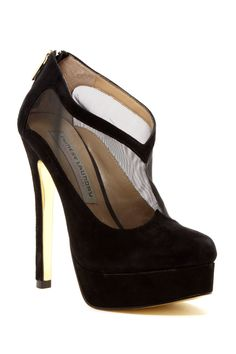 Letizia Mesh Cutout Platform Bootie by Kristin Cavallari by Chinese Laundry on @nordstrom_rack