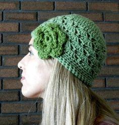 Crochet Shell Stitch Hat Pattern