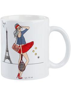 Roland Garros 2012 Angeline Melin Mug