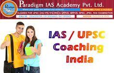 Paradigm Academy: UPSC IAS 2016 Preparation