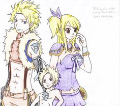 DeviantArt: More Like Sting and Lucy by hachibukaiii