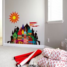 Imaginary Castle Small Decals  by Blik Surface Graphics