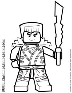 Free Printable Ninjago Coloring Pages For Kids Ninjago Pinterest