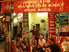 Forget about getting a beer belly. Indulge in Vietnam's dirt cheap Bia Hoi beer. Cheers!  #Vietnam