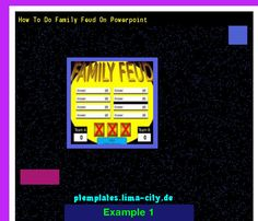 Create Family Feud Game Powerpoint Powerpoint Templates